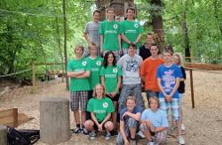 Jugendforum im Kletterwald